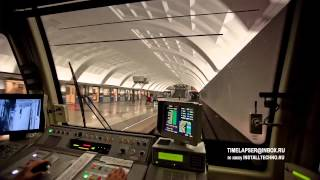 Time lapse sessions in Moscow Metro + backstage HD
