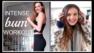 INTENSE BUM WORKOUT AND PACKING FOR ICELAND! | Niomi Smart