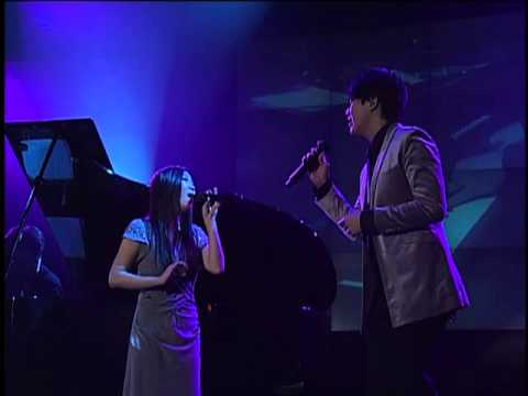 When I Fall in Love - Lena Park (박정현), Sung SiKyung (성시경), Piano김광민 @ 2008.01.22 Live Stage