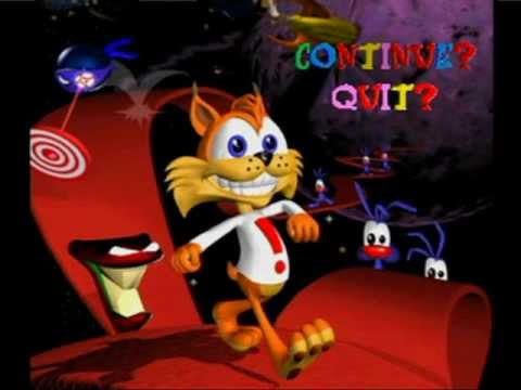 Rock And Roll Games >> Bubsy 3D - Go Round! - YouTube