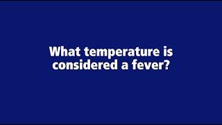 COVID-19 Fever Temperature - Penn State Health Coronavirus, Penn State Health