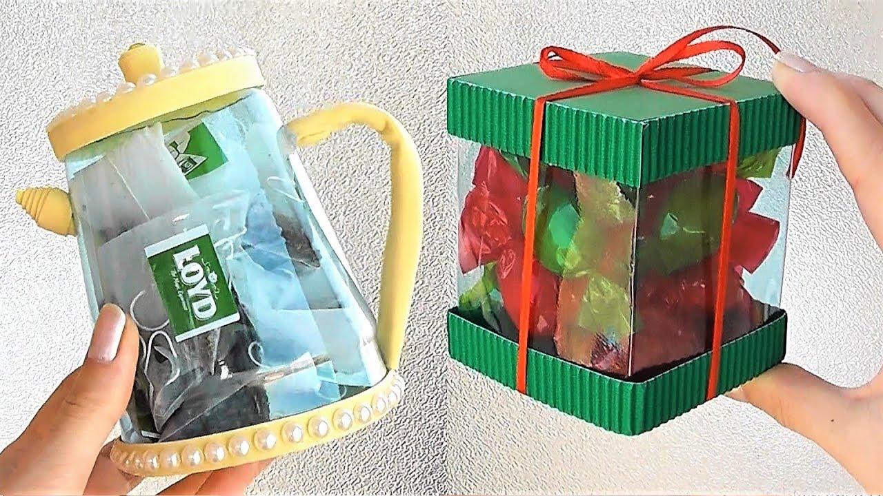 ИДЕИ из пластиковых бутылок / Подарки на 8 марта своими руками