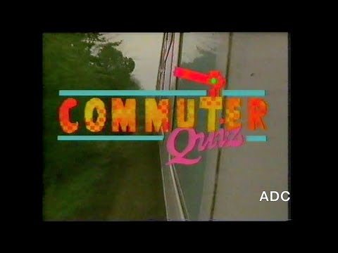Commuter Quiz BBC1 East 17th February 1985 Presented by Geof