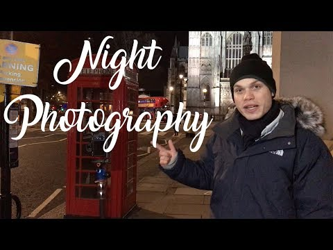 Night Photography In London