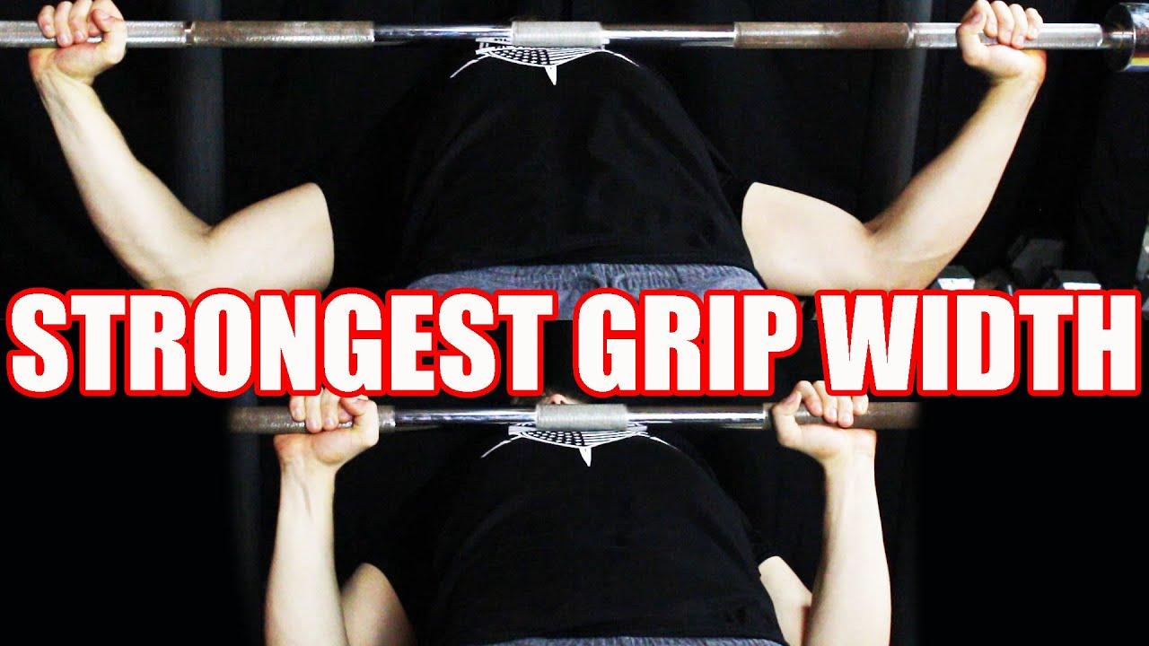 best bench press grip