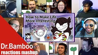 Jaiden Animations: How to Make Life More Interesting REACTIONS MASHUP