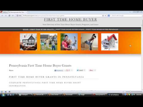 Pennsylvania First Time Home Buyer Grants