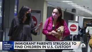 Immigrant parents struggle to find children in U.S. custody