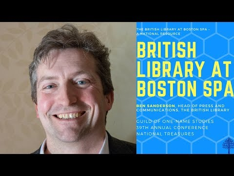 The British Library at Boston Spa – A National Resource by Ben Sanderson