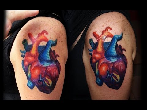 The Best 3d Heart Tattoos Youtube
