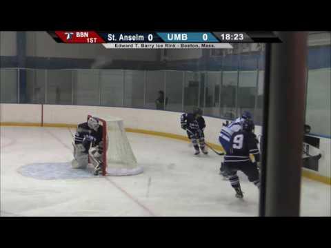 UMass Boston Men's Hockey vs. St. Anselm College (1/6/17)