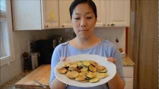 How To Make Pan-fried Zucchini (hobak Jun / 호박전)