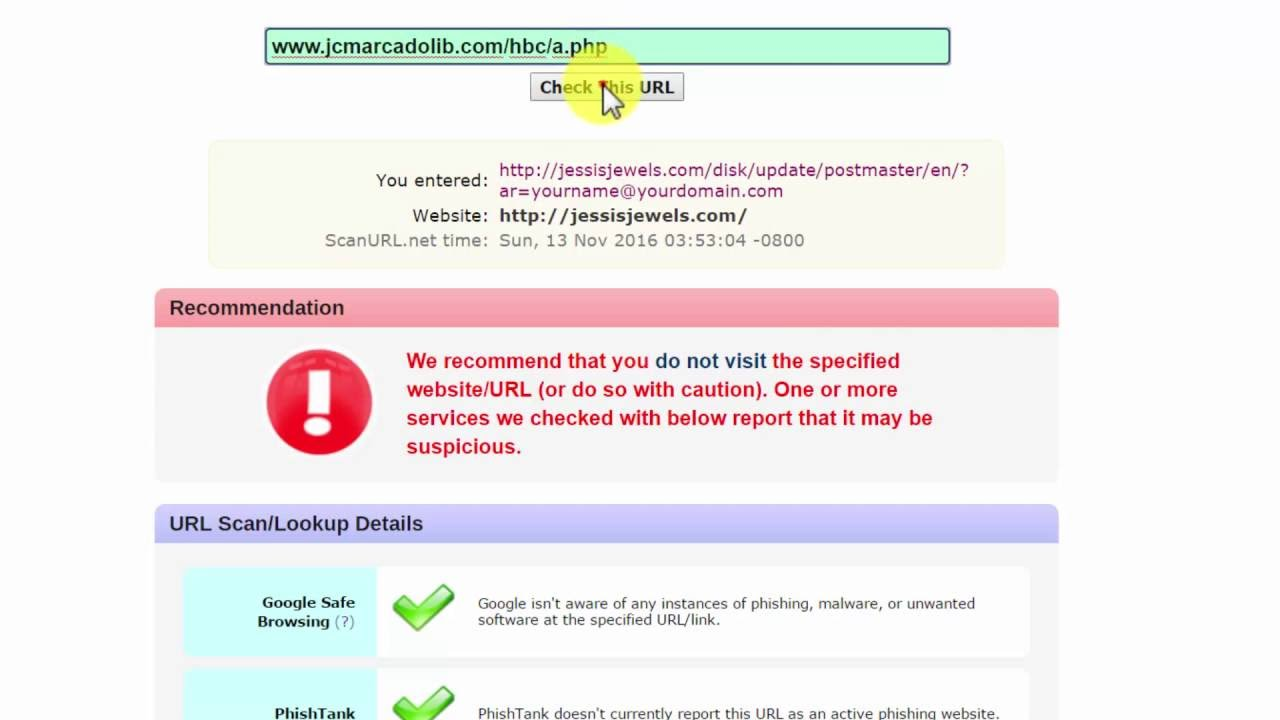 scan url.net