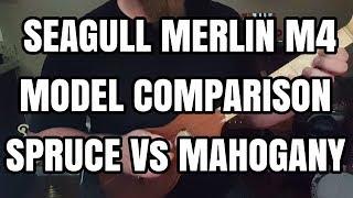 Seagull Merlin M4 Model Comparison