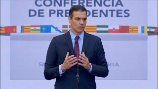 """Sánchez defiende que no haya Comunidades """"de primera y de segunda"""""""