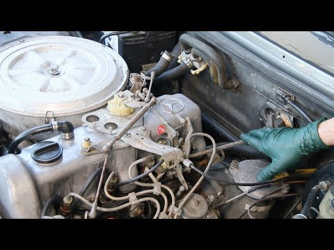 Required Maintenance After Buying an Old Diesel: Throttle Linkage Inspection, Service and Repair