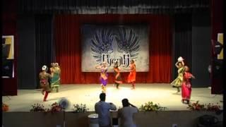 Semiclassical fusion Bharathanatyam