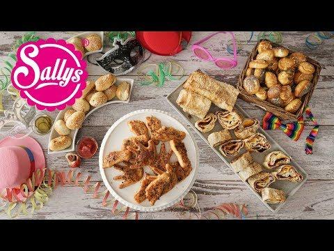 4 Faschingsrezepte selbst gemacht / Herzhaftes Fingerfood für Partys / Sallys Welt