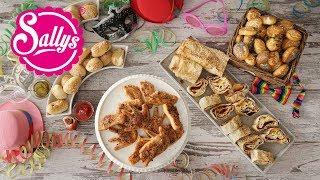 4 Faschingsrezepte selbst gemacht / Herzhaftes Fingerfood für Partys