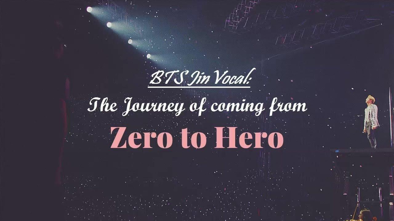 [방탄소년단/진] BTS Jin Vocal: The Journey of coming from Zero to Hero