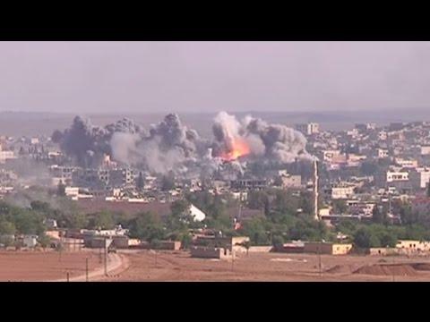 The full Battle of Kobani YPG & FSA vs ISIS. Heavy Urban Fighting and intense action.