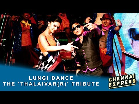 Lungi Dance  The Thalaivarr Tribute  Shah Rukh Khan, Deepika Padukone & Honey Singh