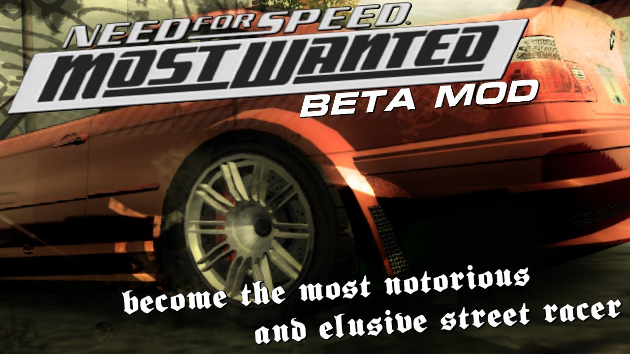 Need for Speed: Most Wanted - Beta mod [Announce trailer]