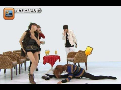 【TVPP】Junhyung(BEAST) - Blind Date With Three Girls, 준형(비스트) - 3:1 소개팅 @ Gag Show