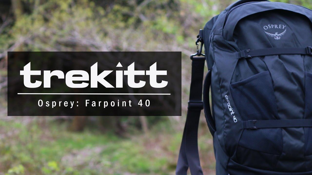 Inside Look  Osprey Farpoint 40 - YouTube 876ddcdd20153