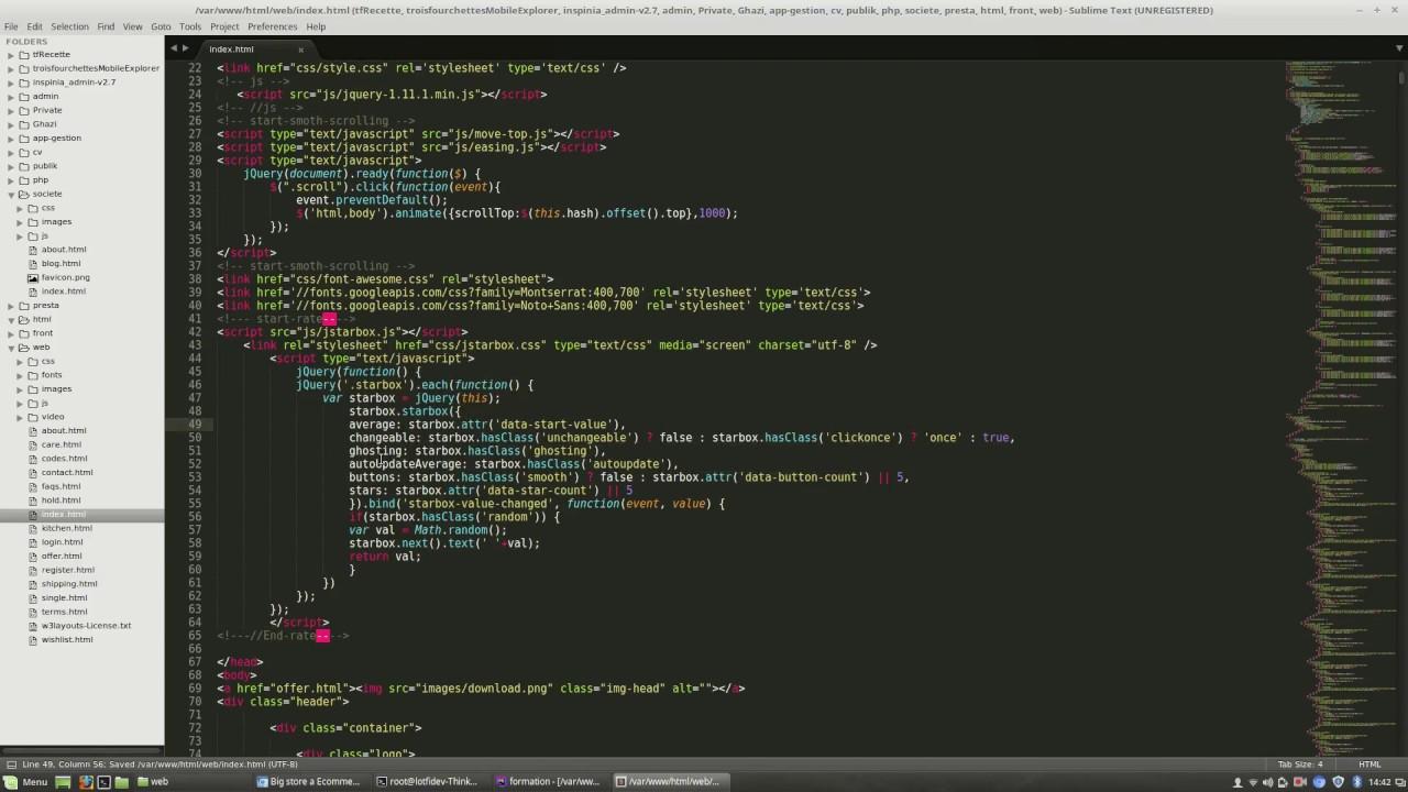 symfony integration template - YouTube