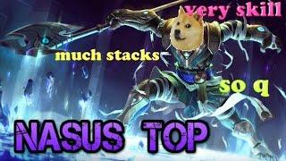 Nasus Top - League of Legends Gameplay