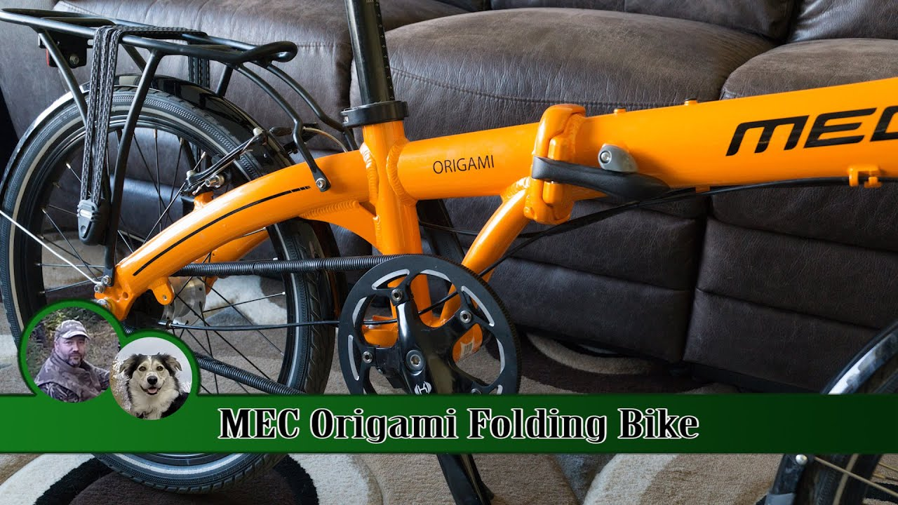 mec origami folding bike review 1 year on youtube