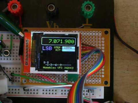 Arduino DDS-VFO JA2NKD