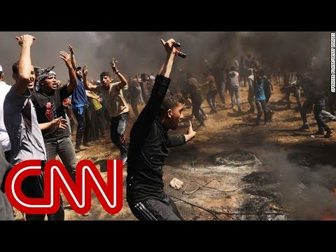 More than 40 Palestinians killed in Gaza protests