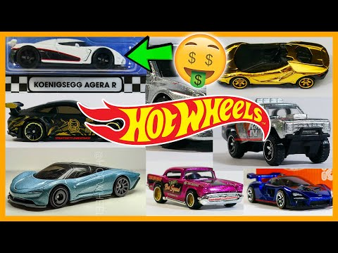 2020 Hot Wheels News – Mclaren SpeedTail, $1000 Koenigsegg, Gold Lamborghini + More