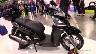 2015 Kymco People GT 300i Scooter - Walkaround - 2014 EICMA Milan Motorcycle Exhibition