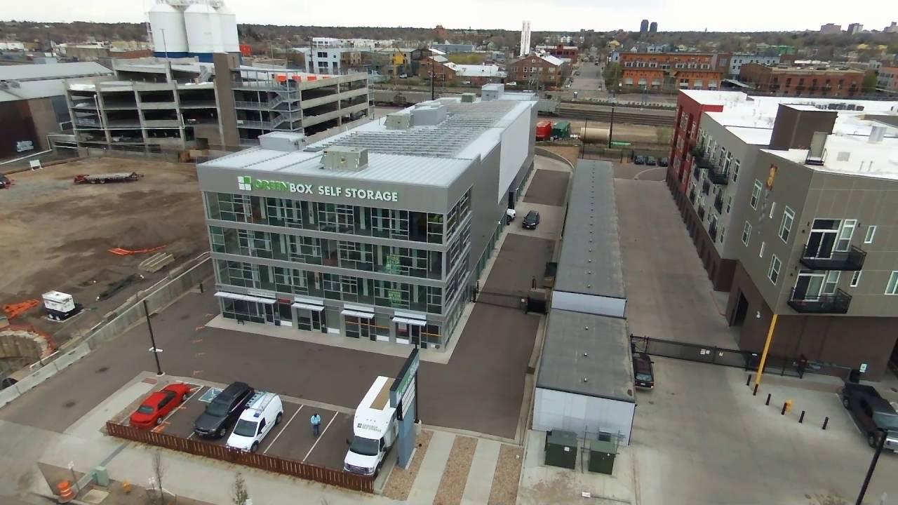 Greenbox Self Storage At 3310 Brighton Blvd Denver Co