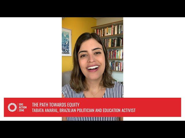 Lightning Talk  –  The Path towards Equity