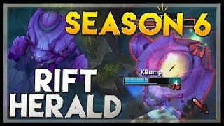 Rift Herald (New Jungle Monster) - League of Legends Season 6