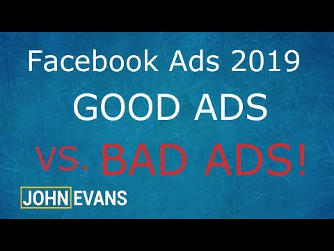 GOOD vs BAD Ads | Facebook Ads 2019 | Shopify Dropshipping 2019 thumbnail