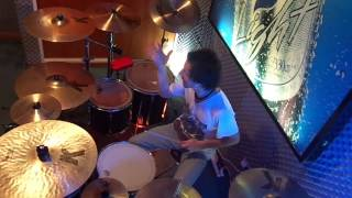 bon jovi 99 in the shade drum cover