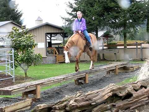 riding the balance beam