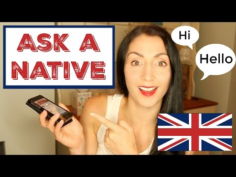 How To Learn English with Native Speakers