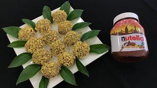 Nefis Lezzet Ramazana Özel Nutella'lı Mısır Gevrekli Kurabiye