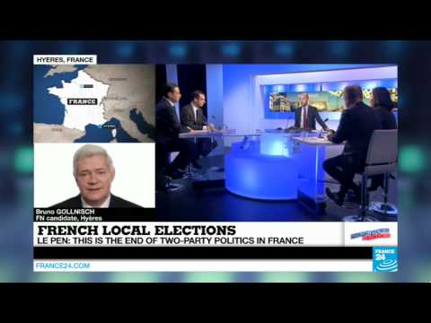 France local elections: rewatch FRANCE 24's special evening  (Part 1)