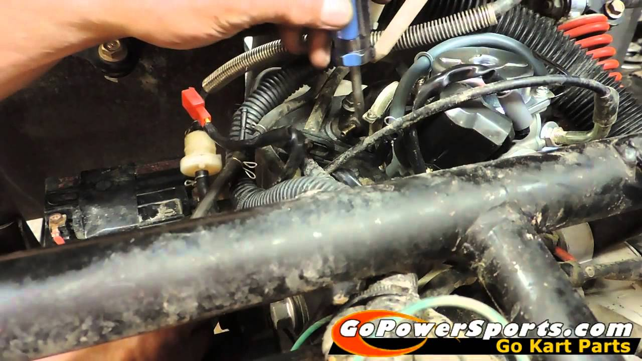 Go Kart Engine Diagram 2000 Chrysler Sebring Wiring 150cc Go-kart Carburetor Replacement - Youtube