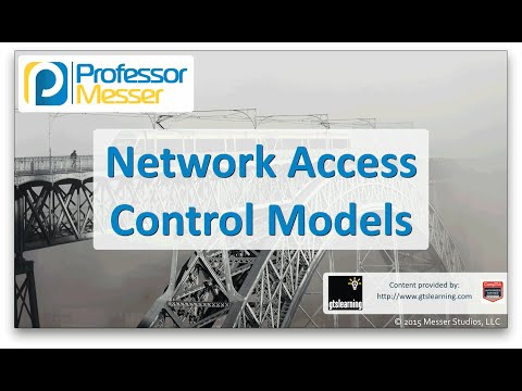 Network Access Control Models - CompTIA Network+ N10-006 - 3.6