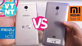 Xiaomi Redmi Note 4x Vs Meizu M5 Note какой смартфон купить