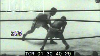 1950 Boxing: Jake Lamotta Jake Lamotta KOs Dauthuille in Final Round