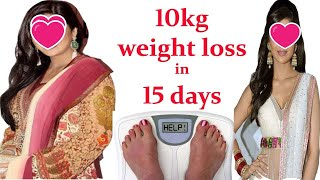 10kg weight loss in 15 days miracle formula complete solution by Dr  Nadia Must Watch